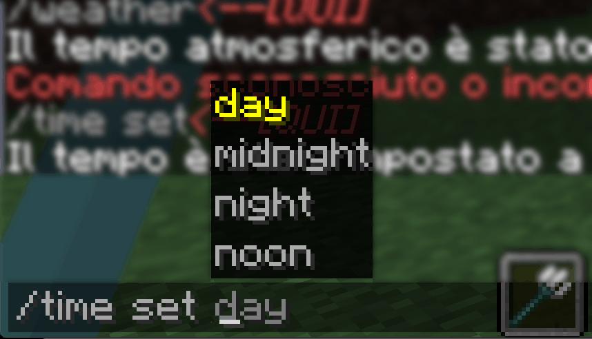 lista comandi minecraft