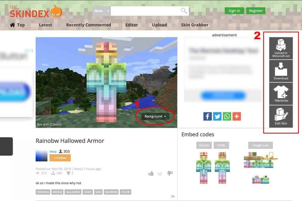 download skin minecraft